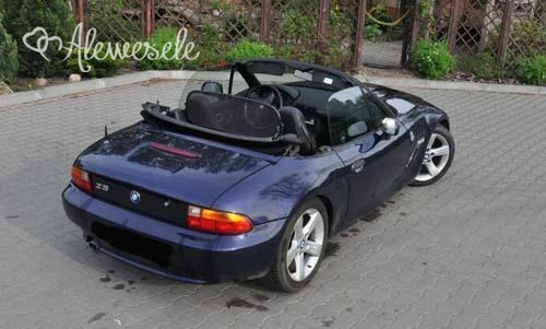 bmw z3 do ślubu 1